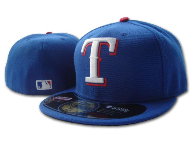 Texas Rangers MLB Fitted Hat SF2